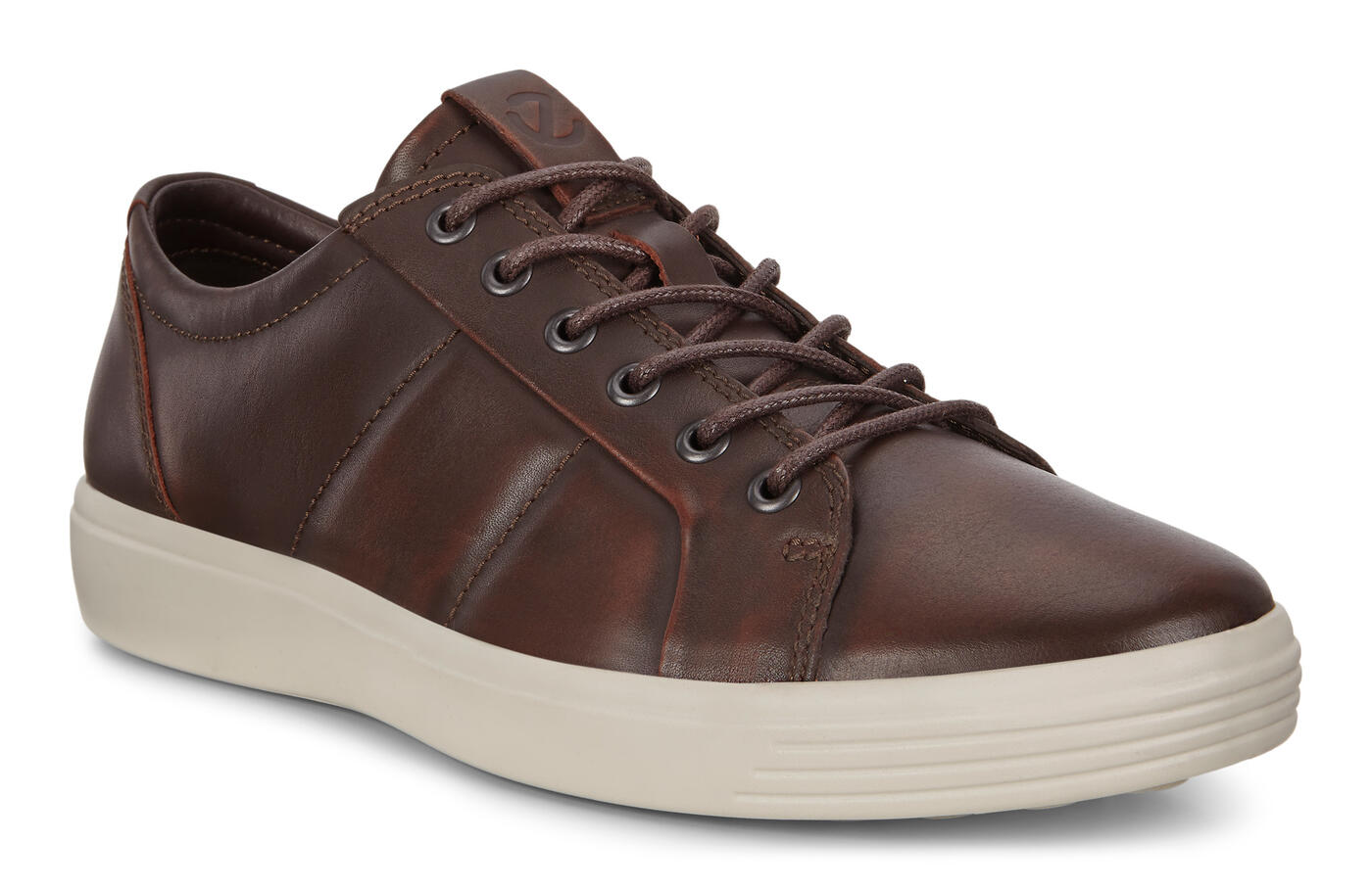 Sneaker ECCO Soft 7 en cuir matelassé pour hommes