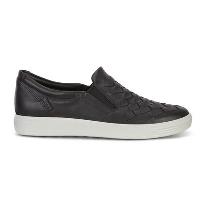 ECCO Soft 7 Womens Woven Slip-On