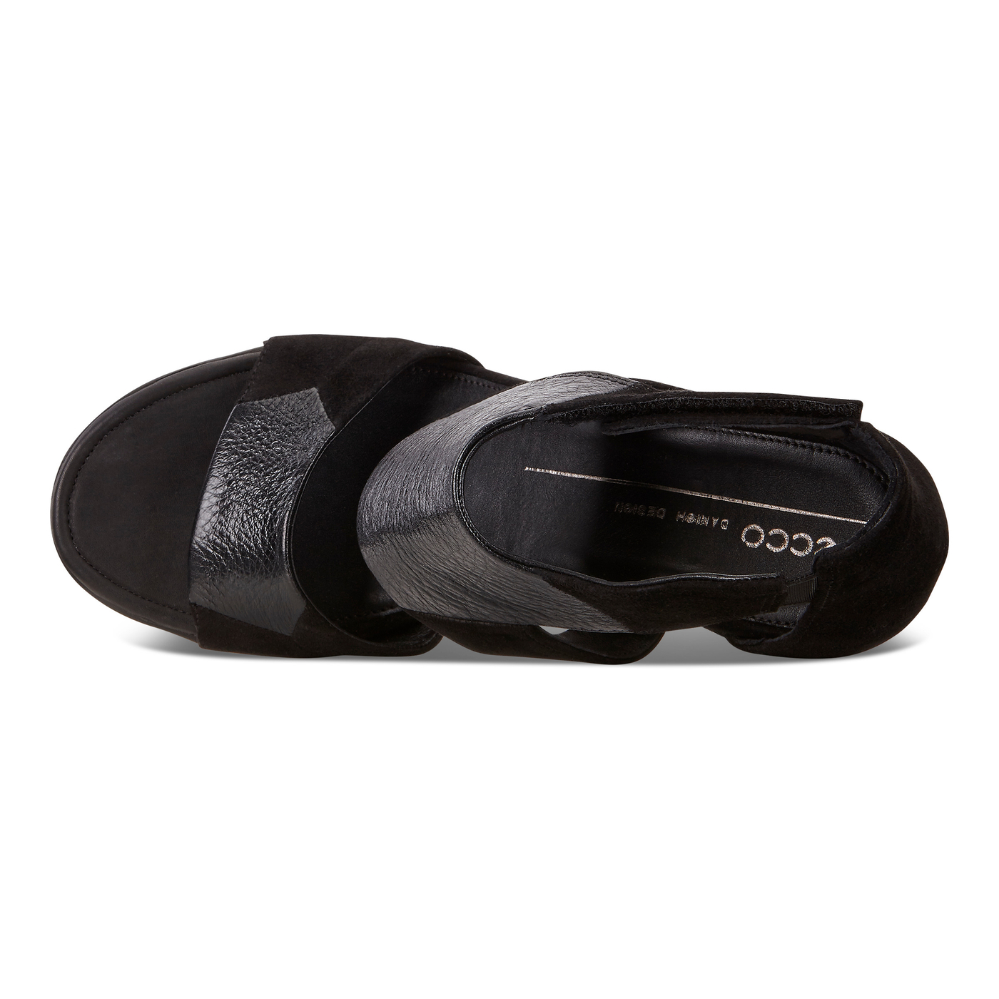 Sandale compacte ECCO Shape 65 avec lanière àla cheville
