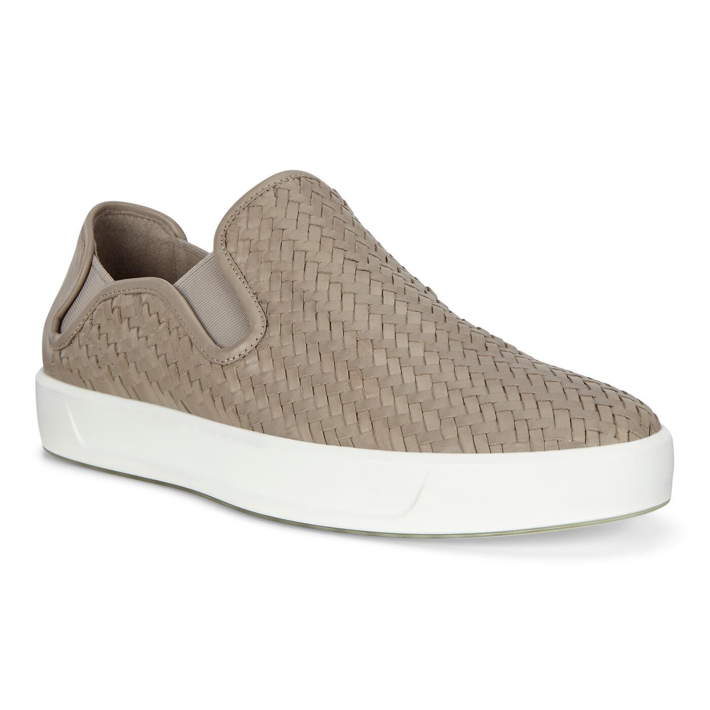ECCO Soft 8 Men's Slip-On Sneakers