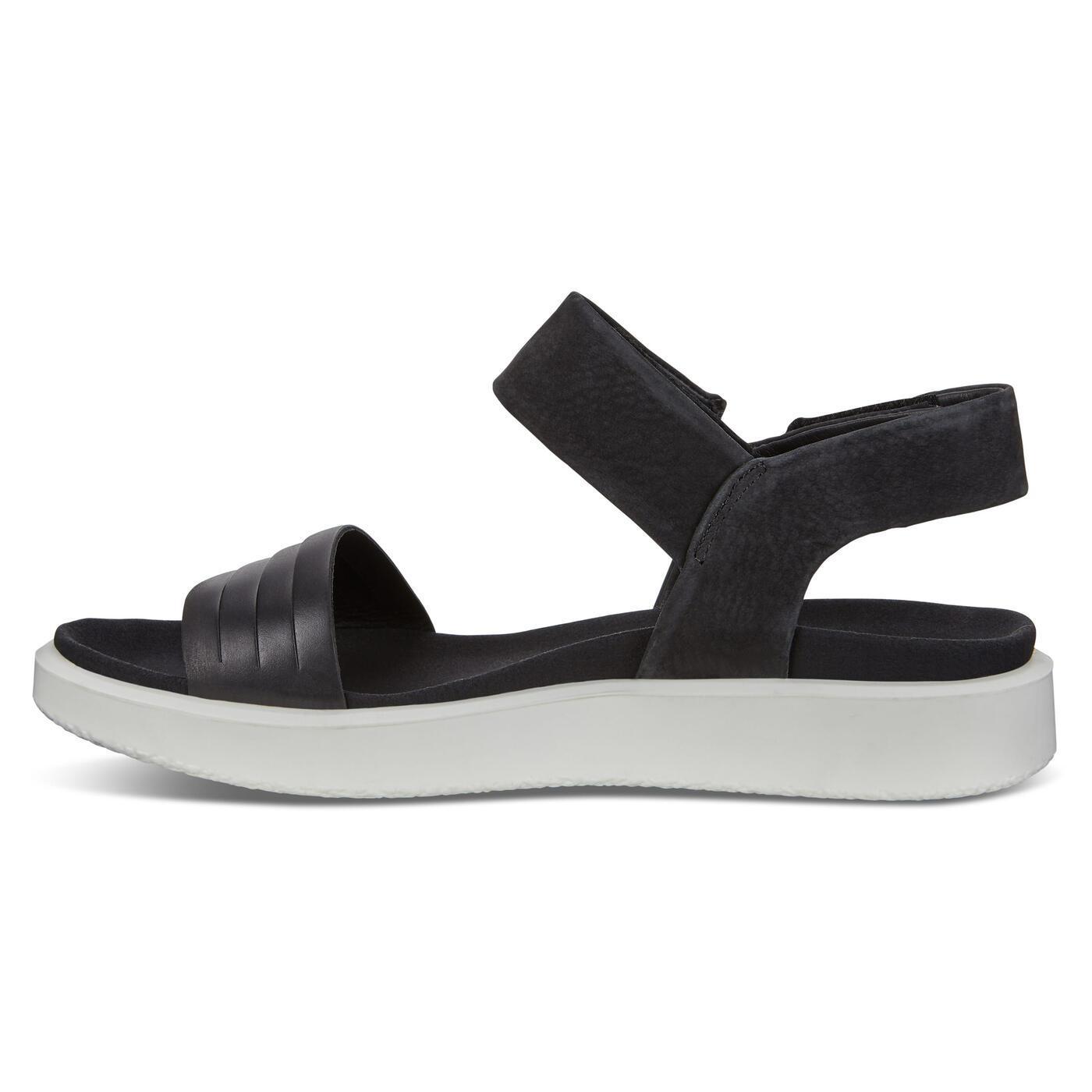 ECCO Flowt Women's Flat Contrast Sole Sandals