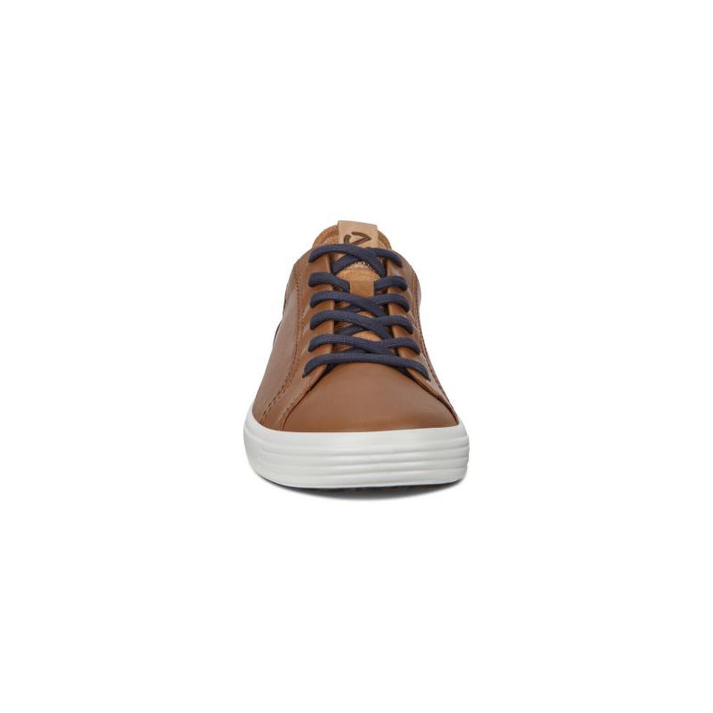 ECCO Soft 7 Men's Contrast Heel Sneakers
