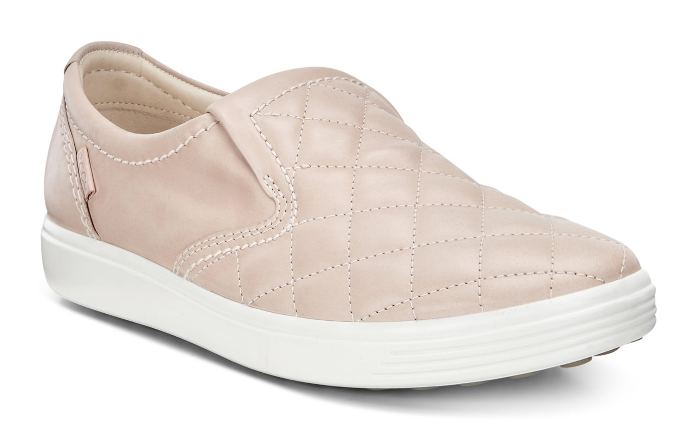 ECCO Soft 7 Quilted Slip On