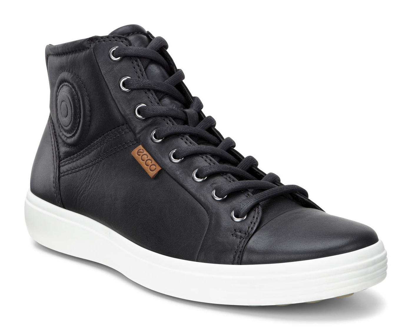 ECCO Mens Soft 7 High Top