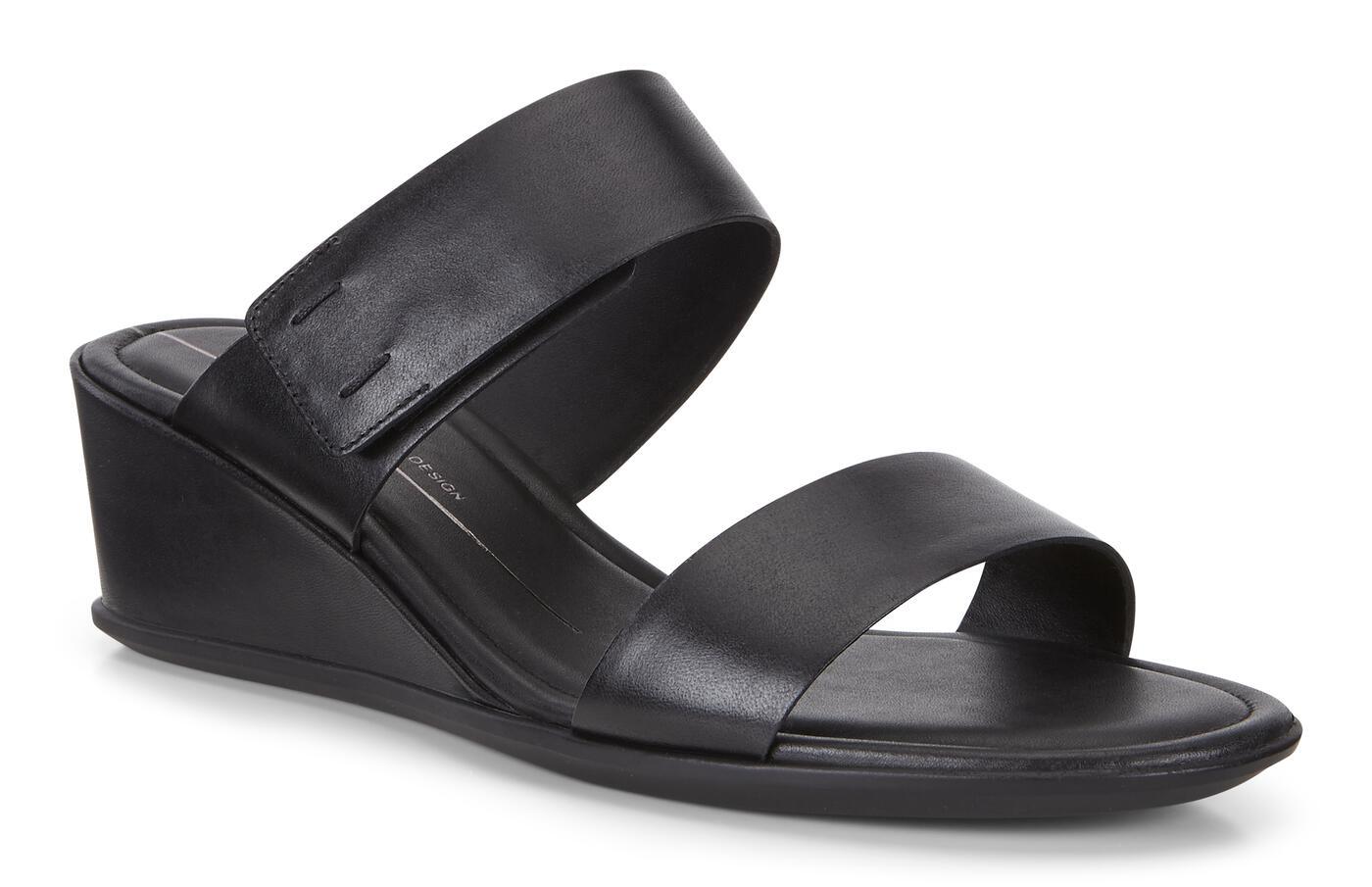 Chaussure compensée ECCO Shape 35, 2 lanières