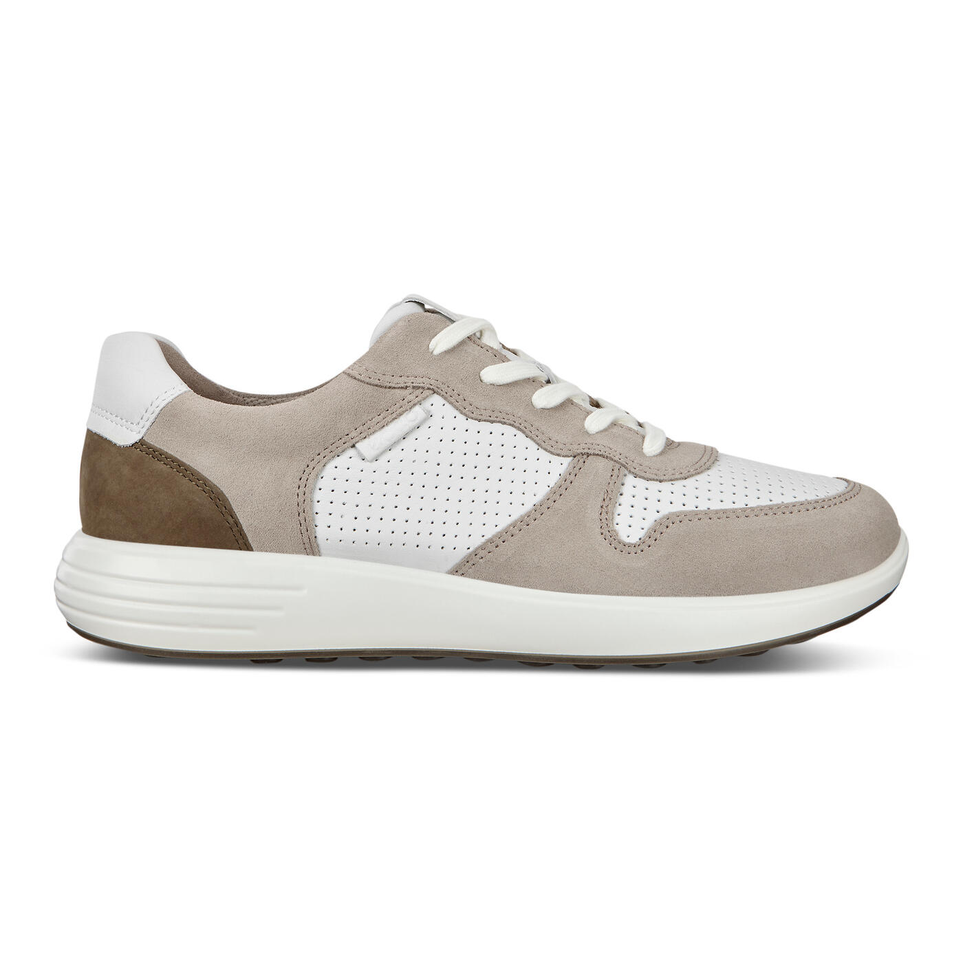 ECCO Soft 7 Runner Men's Perforated Sneakers