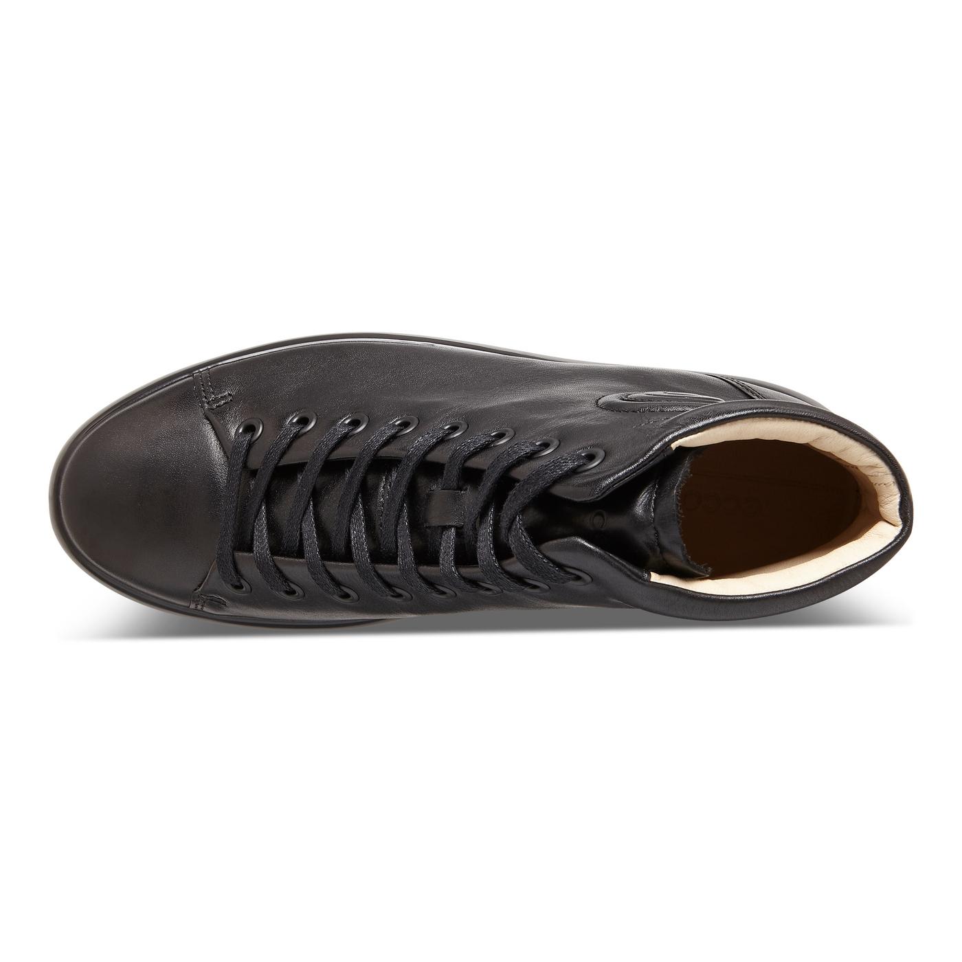 ECCO Womens SOFT 9 High Top Sneaker